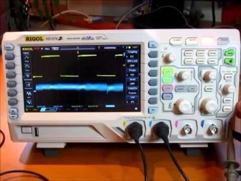 Rigol DS1074Z Oscilloscope Review