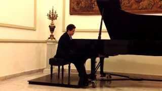 """Polonesa Op. 40 No. 1 en La Mayor """"Militar"""" Fryderyk Chopin Piano"""