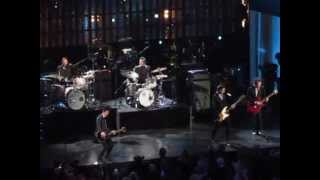 Green Day and Ringo Starr at Rock and Roll Hall of Fame Induction