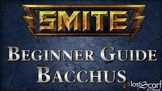 Smite Beginner God Guide 7: Bacchus