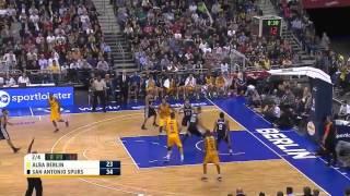San Antonio Spurs vs Alba Berlin Highlights (8/10/2014)