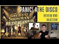 Panic At The Disco The Greatest Show Review And Reaction The Greatest Showman Reimagined mp3