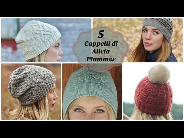 5 cappelli ai ferri di Alicia Plummer