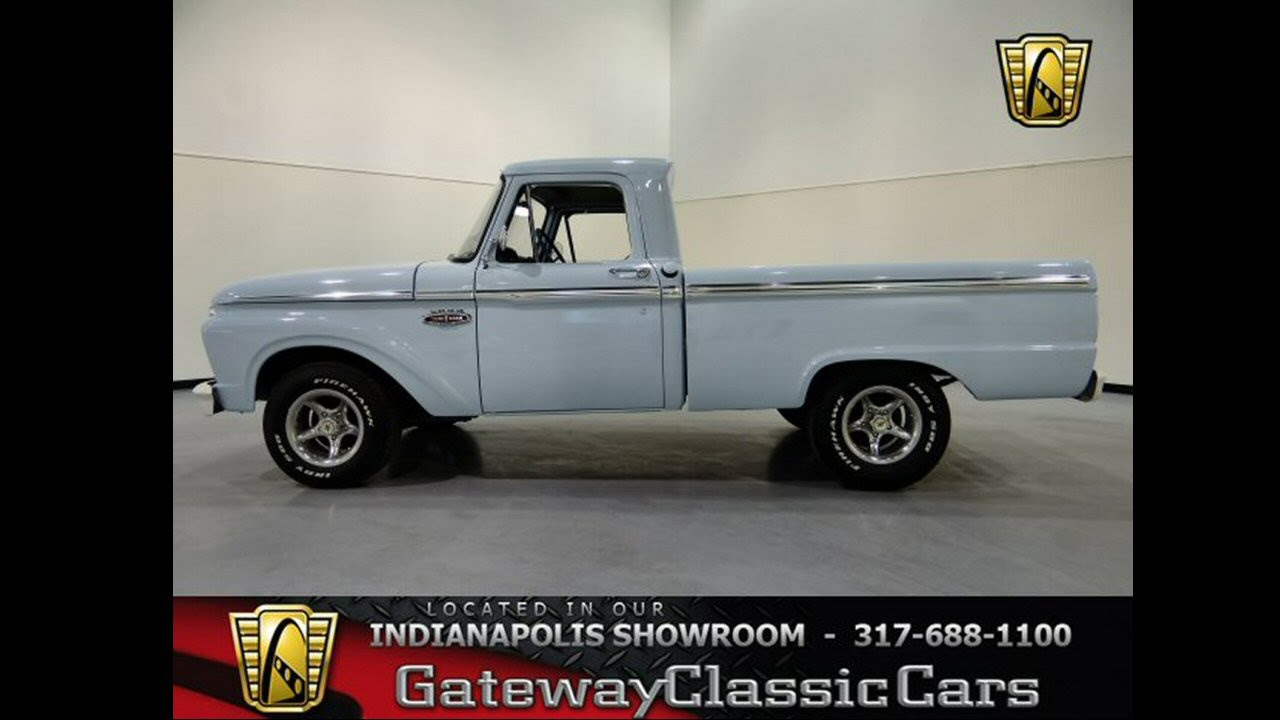 209 Ndy 1966 Ford F 100 Gateway Classic Cars Indianapolis Youtube 1955 F100 Vin Location