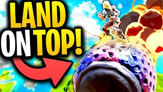 What Happens When You LAND ON TOP Of A MARAUDER METEOR? | Fortnite Mythbusters