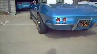 1966 Corvette Start up