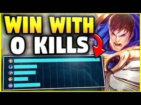 HOW TO WIN A GAME WITHOUT ATTACKING YOUR OPPONENT! - League of Legends