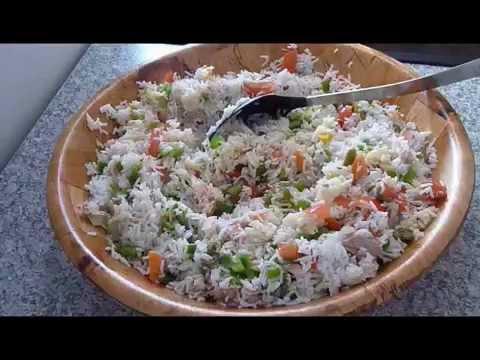 Salade de riz tunisienne cuisine tunisienne youtube - Youtube cuisine tunisienne ...