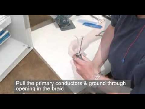 Belden VFD Cable Termination - Foil Braid