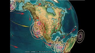 4/06/2020 -- Earthquake activity spreading -- Unrest across West Coast US - Be Prepared