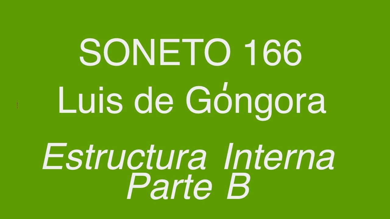 Soneto 166 Estructura Interna Parte B