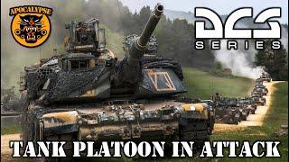 DCS 2.5 Beta - M1 Tank Platoon in the Attack