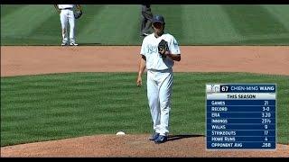 20160619 20160620 TW MLB DET@KC Chien Ming Wang in 12th 王建民第12局登板後援1 2局 720P HD