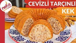 ÇOK KABARAN TAM TUTAN TARİF 👍 Cevizli Tarçınlı Yumuşacık Kek Yapımı