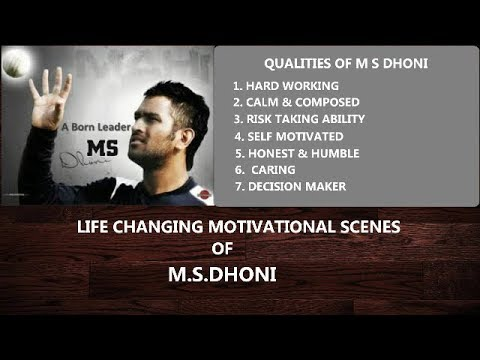 MUST WATCH | MS DHONI | MOTIVATIONAL |...