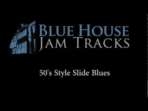 50's Style Slide Blues [E] Jam Track