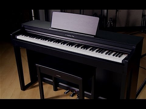 yamaha clavinova clp 525 video owner 39 s manual youtube. Black Bedroom Furniture Sets. Home Design Ideas