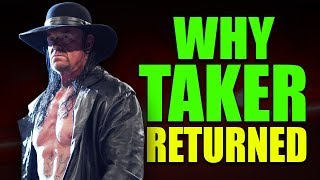 Gambar cover Real Reasons Why The Undertaker Returned To WWE Raw (8th April 2019)
