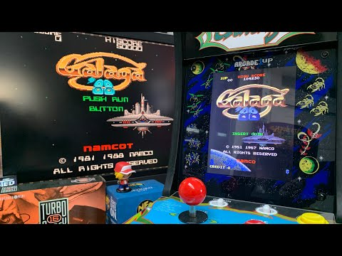 GALAGA '88 - CHASING THAT HIGH SCORE!  ARCADE1UP COUNTERCADE GAMEPLAY from The 3rd Floor Arcade with Jason