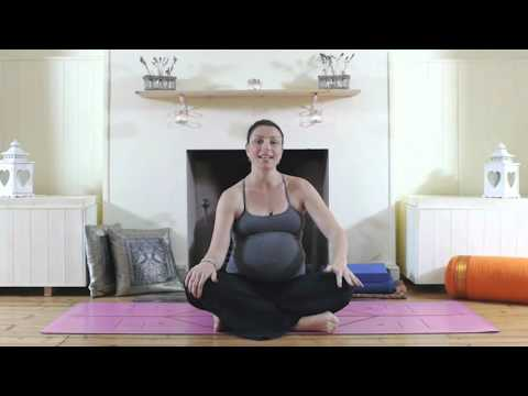 Pregnancy Yoga with Sally Parkes 1