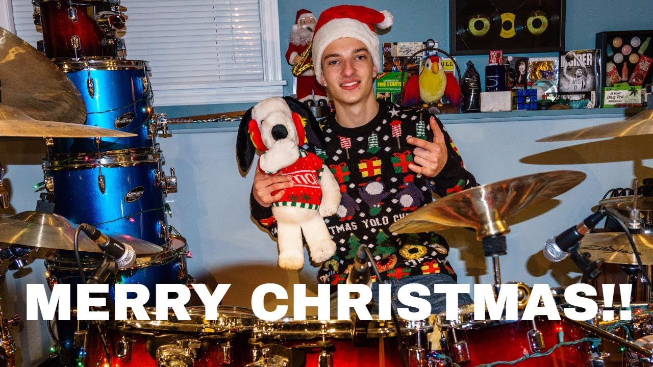 NSYNC - Merry Christmas, Happy Holidays - Drum cover - YouTube