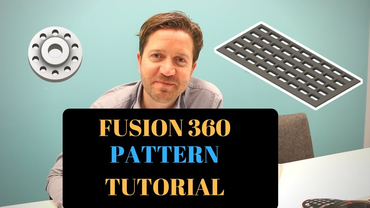 Fusion 360 Pattern - How To Be Lazy and Get More Done