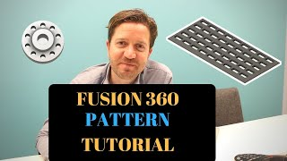 fusion 360 pattern how to be lazy and get more done