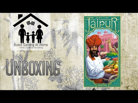 Jaipur Card Game Unboxing