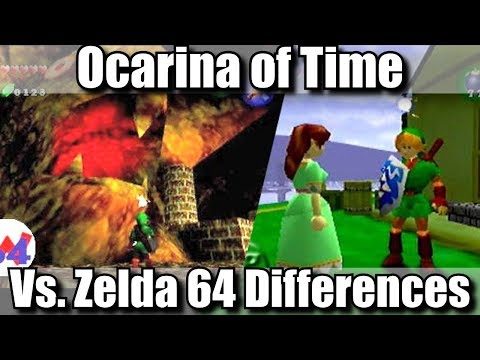 Zelda 64 vs Ocarina of Time - Discussion With Hard4Games