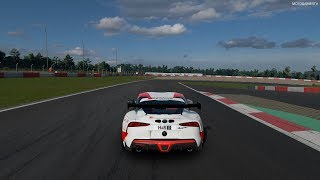 Gran Turismo Sport - Toyota GR Supra (Nürburgring 24 Hours Race 2019 Livery) Gameplay [4K PS4 Pro]