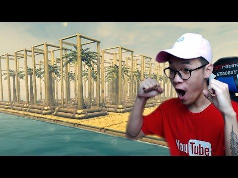 PERKEBUNAN KELAPA SAWIT TERBESAR DI DUNIA ! | Raft Indonesia Gameplay #3