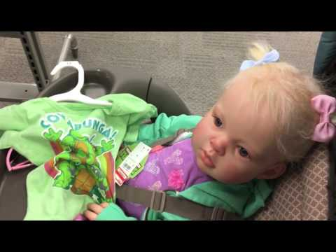 Prim goes to Target and Menchie's  (REBORN DOLL ROLEPLAY & REACTION)