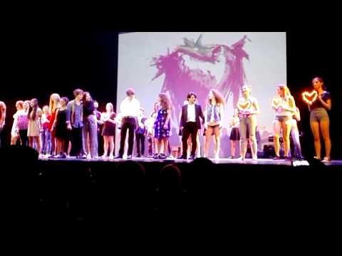 Spettacolo caracciolo junior musical school al Teatro Eliseo di Roma Greta Esposito 18