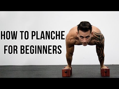 HOW TO PLANCHE FOR BEGINNERS | BY OSVALDO...