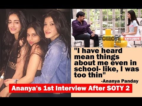 Exclusive: Ananya Panday Interview on Suhana Khan, Shanaya Kapoor, SRK & Soty 2! | SpotboyE Mp3