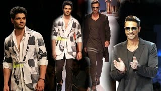 Lakme Fashion Week 2015 | Arjun Rampal & Sooraj Pancholi Ramp Walk