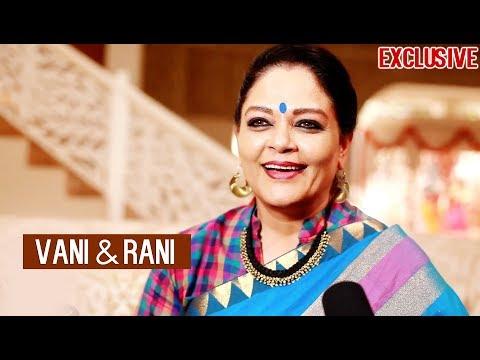 Tanvi Azmi talks about her DOUBLE ROLE | Vani Rani | And TV