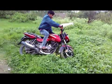 Varun bike riding
