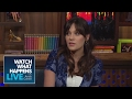 Zooey Deschanel Asks Andy Which Real Housewife Is The Craziest Host Talkative WWHL mp3