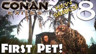 Pet Jaguar! - Conan Exiles #8 (Season 3)