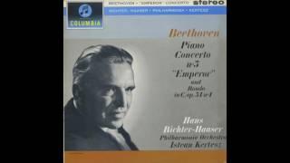 Silent Tone Record/ベートーヴェン:ピアノ協奏曲5番「皇帝」,ロンド/ハンス・リヒター=ハーザー、イシュトヴァン・ケルテス指揮フィルハーモニア管弦楽団