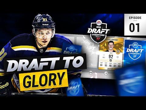 NHL 17 DRAFT CHAMPIONS   DRAFT TO GLORY #1 'WORLD CUP'