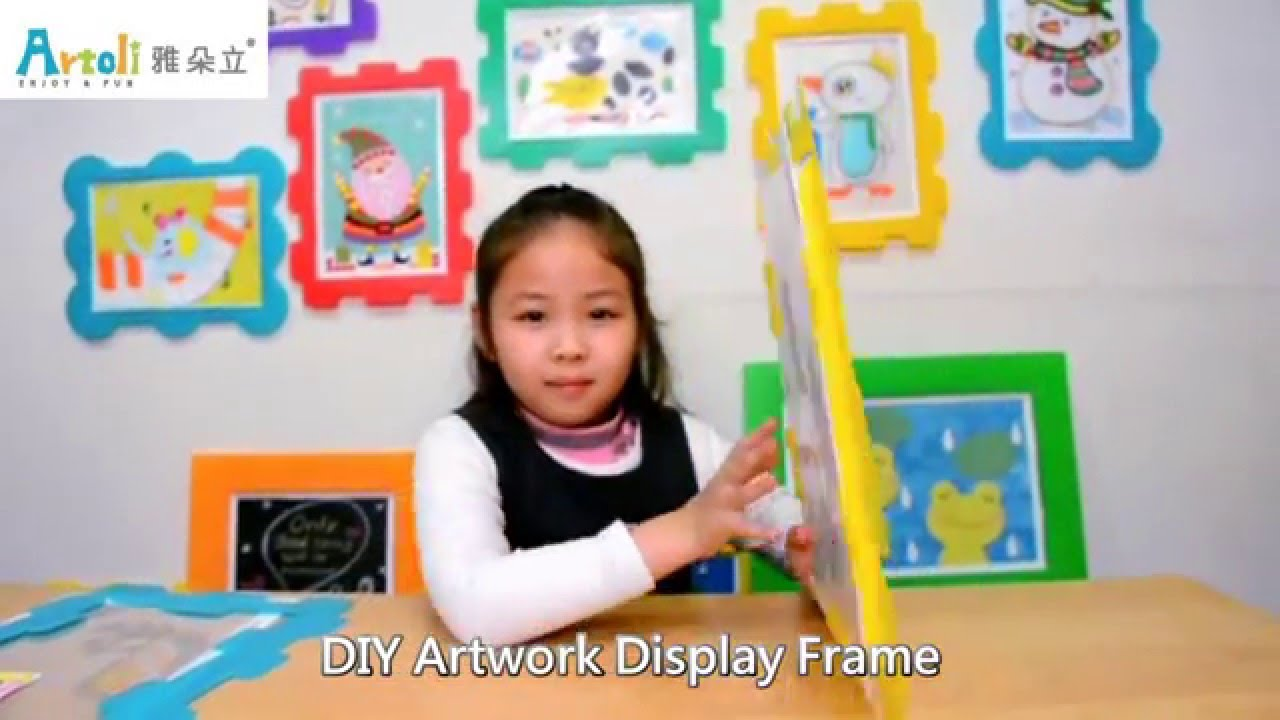 artoli diy artwork display frame easy to change artwork - Easy Change Artwork Frames
