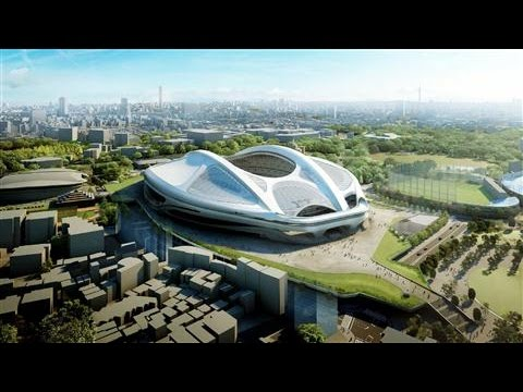 Japan Scraps Costly Olympic Stadium