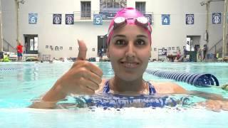 """Nadadora Bárbara Hernández Huerta,  """"La Sirena de Hielo"""""""
