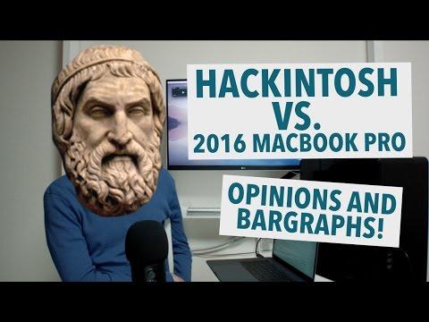 Hackintosh vs. 2016 MacBook Pro w/ Touchbar!