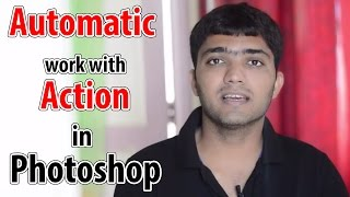 #93 Automatic Work with Action in adobe Photoshop (Insert Conditional, Insert path, batch)(In This video you will see How to use action for fast work , automatic/auto work on thousands of Photos. and how to make conditions in actions. in HINDI video ..., 2016-08-19T17:02:53.000Z)