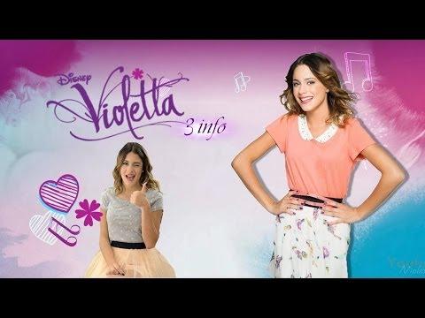 Violetta 3 information partie 1 youtube - Info violetta ...