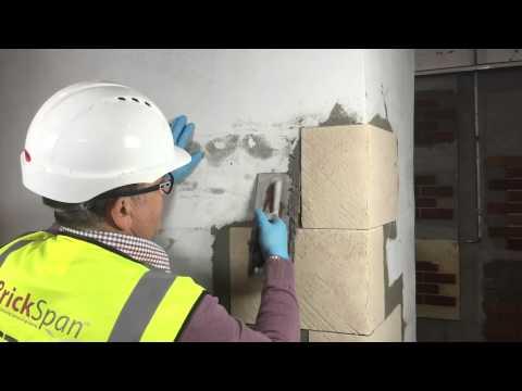 Brickspan Stone Quoins Installation