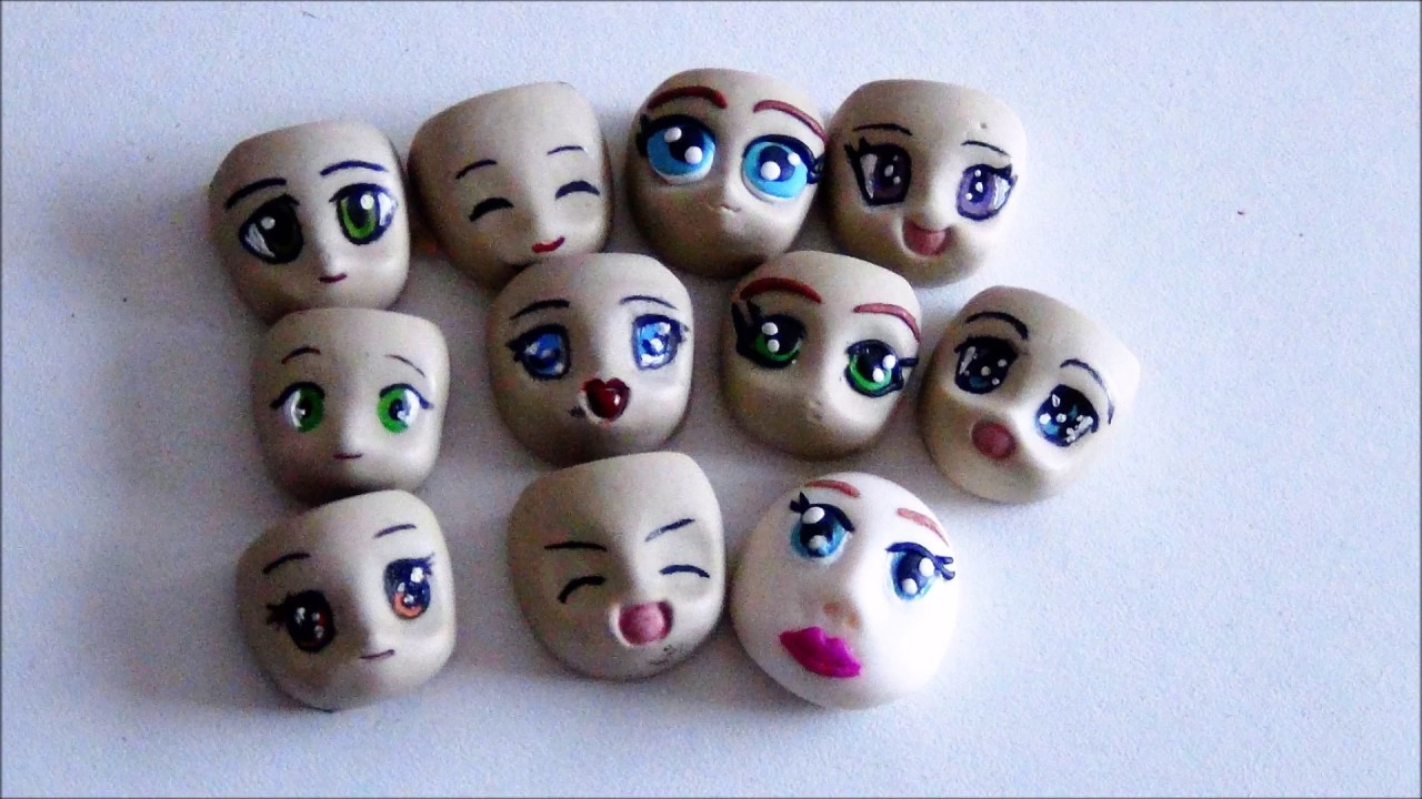 tuto fimo polymer visage tete de chibi polymer face chibi fimo youtube. Black Bedroom Furniture Sets. Home Design Ideas